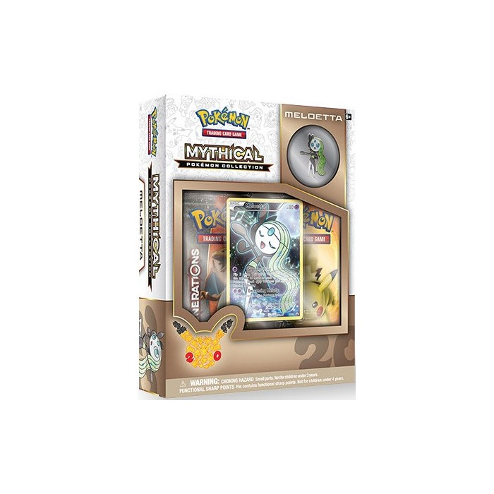 Mythical Pokemon Collection Meloetta