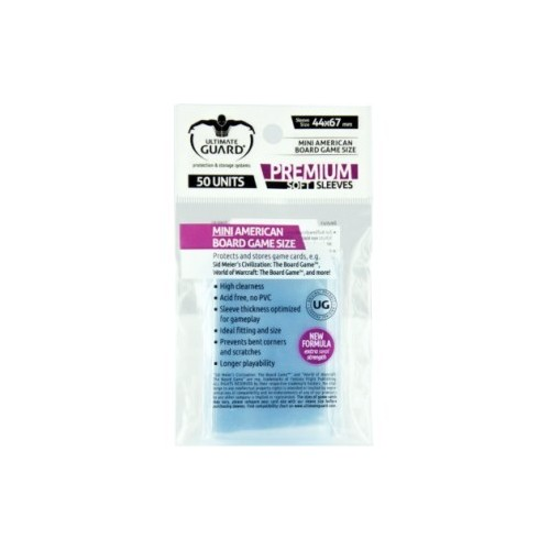 Protector Ultimate Guard Mini Americano 44x67 50 unidades