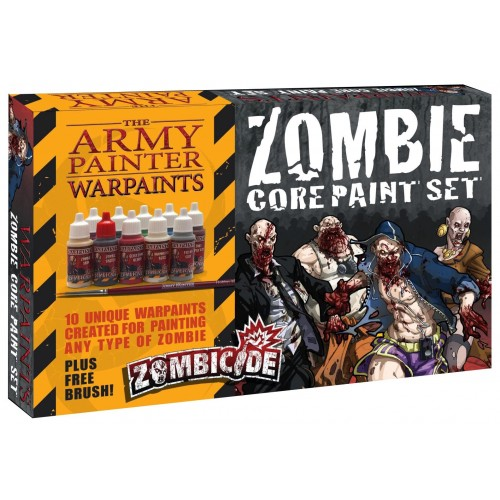 Paint Set Zombicide: Zombie Core Paint Set