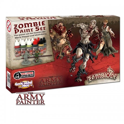 Paint Set Zombicide: Zombicide Black Plague
