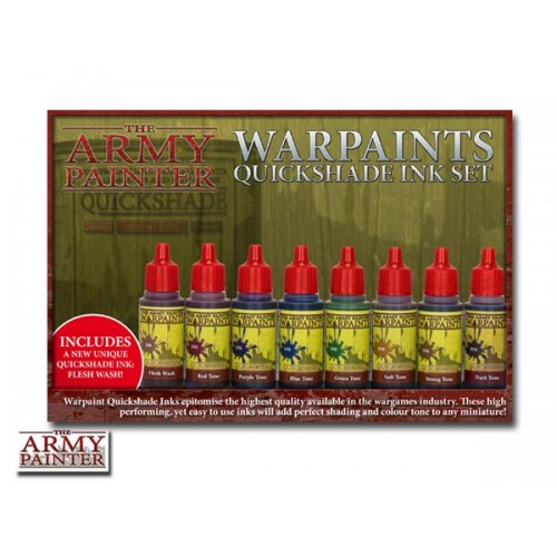 Paint Set Warpaints Quickshade Ink Set II