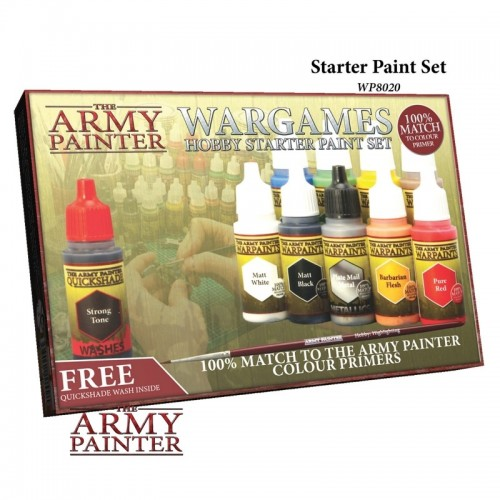 Paint Set Warpaints Starter Paint Set