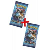 Pack de 2 Sobres Pokemon Evoluciones XY12
