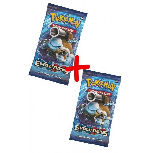 Pack de 2 Sobres Pokemon Evoluciones XY12