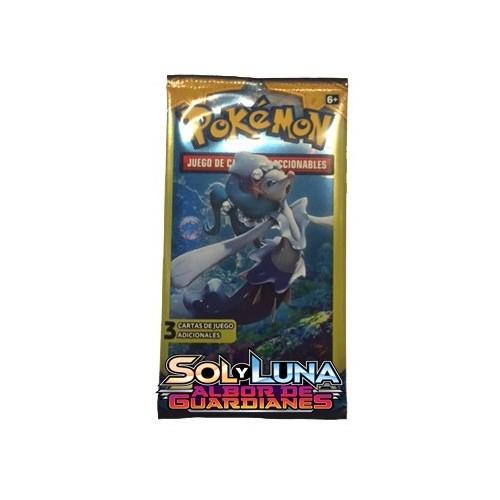 Sobre Pokemon Sol y Luna 3 cartas