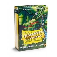 Dragon Shield Matte 60 Japanese Sized Apple Green