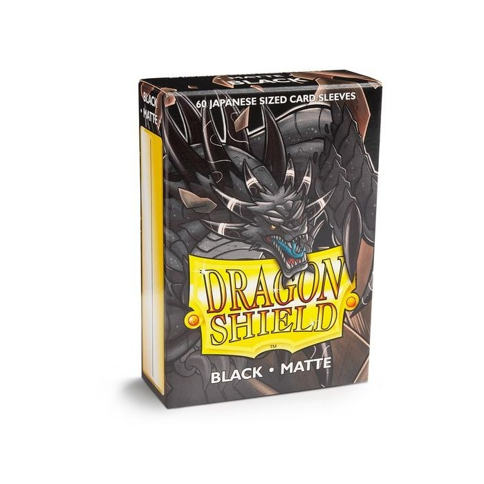 Dragon Shield Matte 60 Japanese Sized Black