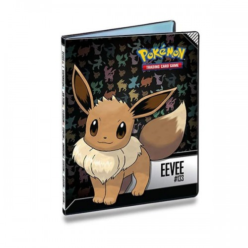 Carpeta 9 Bolsillos Pokemon Eeve