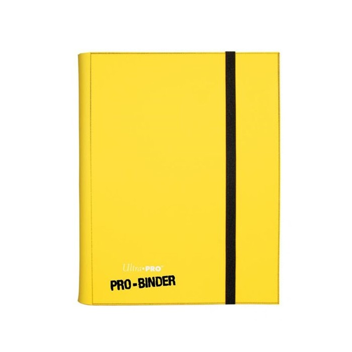 Carpeta coleccionador Pro Binder Amarillo Ultra Pro
