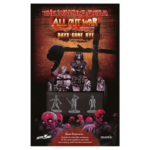 The Walking Dead - All Out War Days Gone Bye Atlanta Expansion