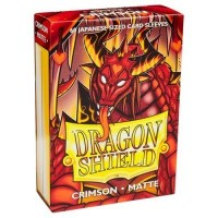 Dragon Shield Matte 60 Japanese Sized Crimson