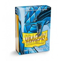 Dragon Shield Matte 60 Japanese Sized Sky Blue