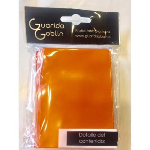 Guarida Goblin - Protector de cartas Standard Naranjo 50