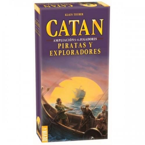 Catán - Expansion Piratas y Exploradores 5-6 jugadores