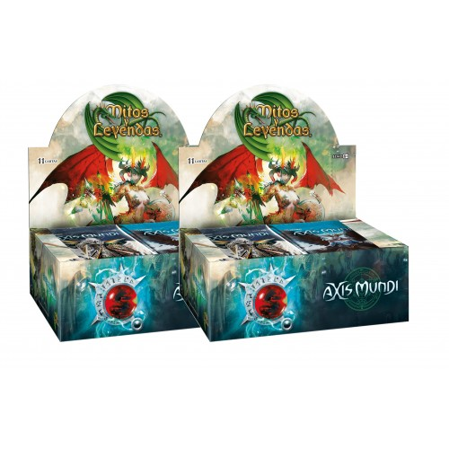Pack 2 Display Mitos y Leyendas Axis Mundi
