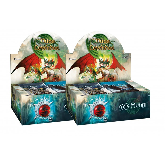 Pack 2 Display Mitos y Leyendas Axis Mundi