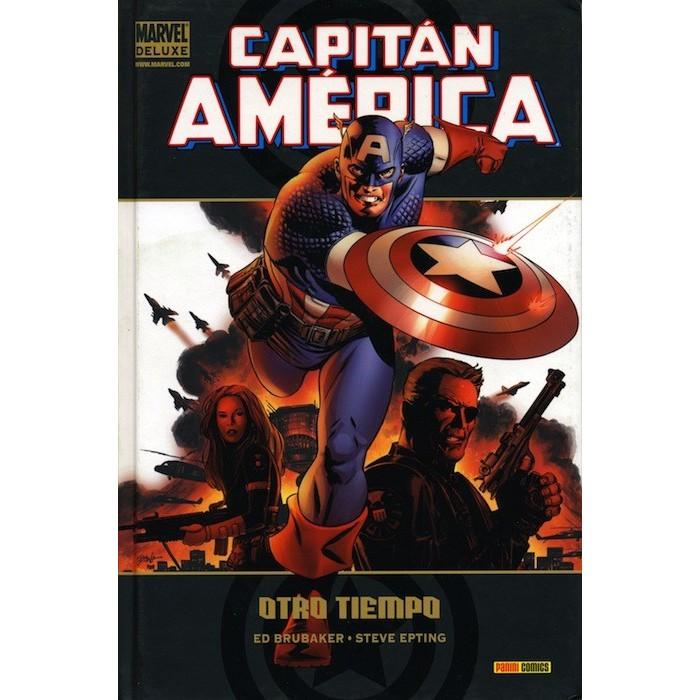 CAPITÁN AMÉRICA 01: OTRO TIEMPO (Marvel Deluxe)