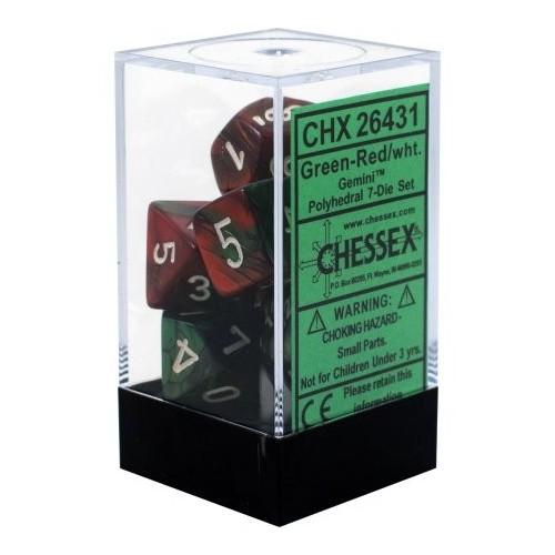 CHX26431 Set de 7 dados