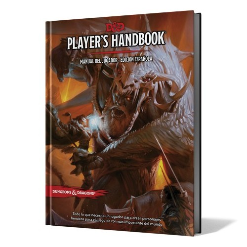 Dungeon and Dragons - Manual del Jugador 5ta Edición