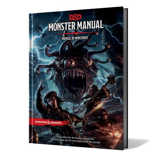 Dungeon and Dragons - Manual de Monstruos 5ta Edición