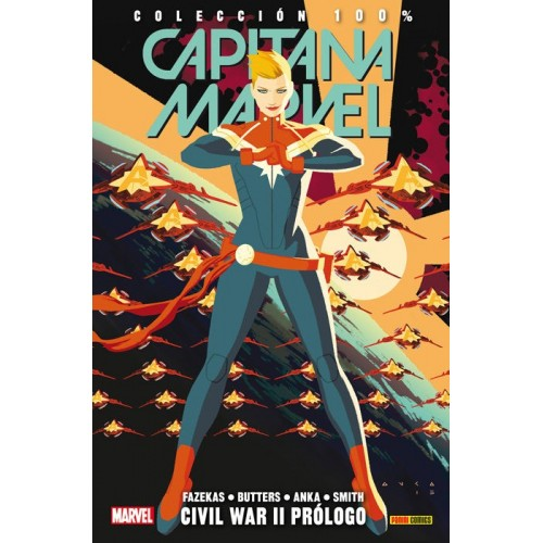 CAPITANA MARVEL 5 - CIVIL WAR II PRÓLOGO (MARVEL COLECCIÓN 100%)