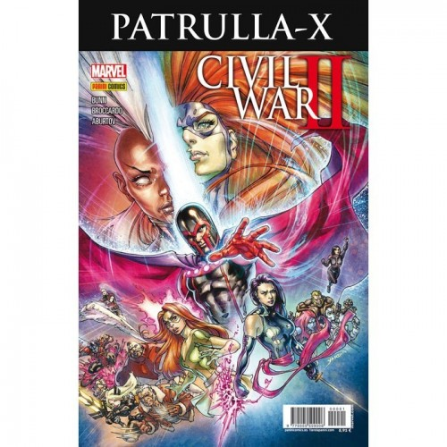 PATRULLA X - CIVIL WAR II CROSSOVER 1