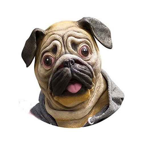 Mascara de Perro Pug