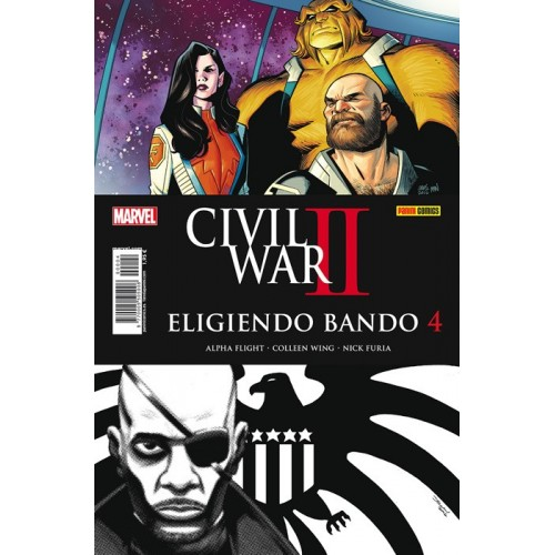 CIVIL WAR II - ELIGIENDO BANDO 4