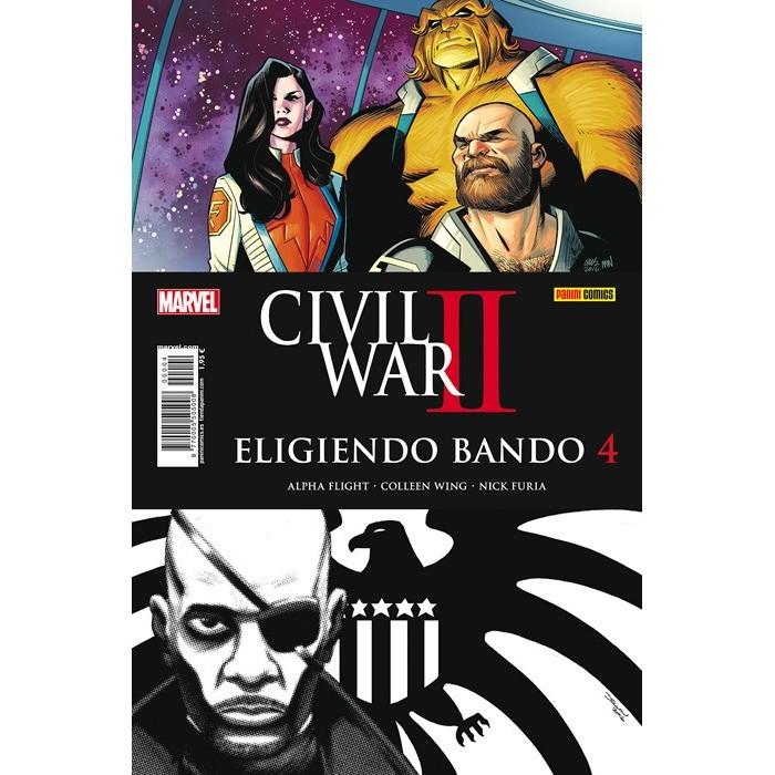 CIVIL WAR II - ELIGIENDO BANDO 4
