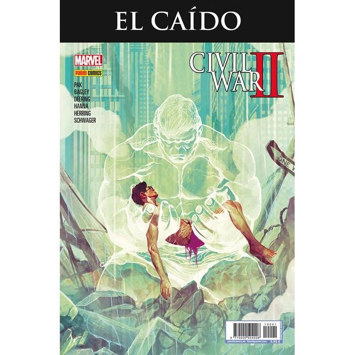 EL CAÍDO - CIVIL WAR II (PORTADA ALTERNATIVA)
