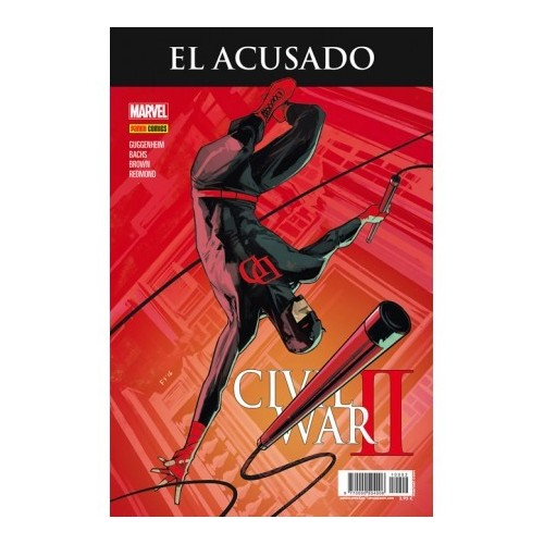 CIVIL WAR II - EL ACUSADO (PORTADA ALTERNATIVA)