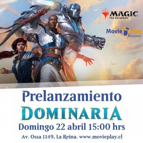 Pre lanzamiento 3 Dominaria Domingo 15:00 hrs
