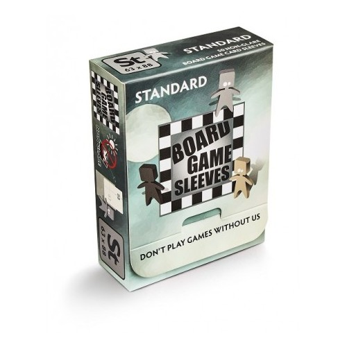 Board Game Sleeves Standard 63x88 Non Glare 50