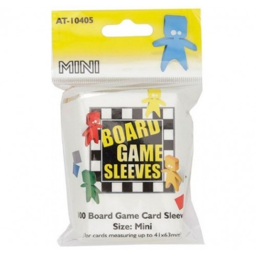 Board Game Sleeves Mini 41x63 100