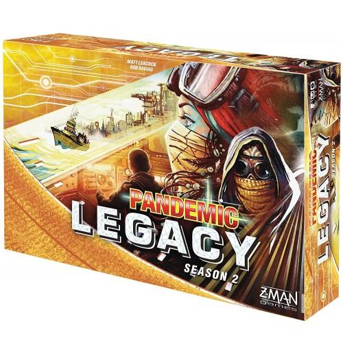 Pandemic Legacy Temporada 2 Amarillo