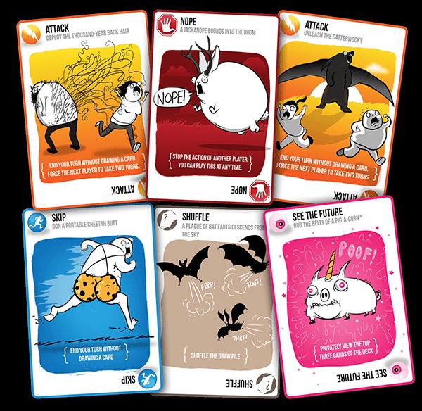 Exploding Kittens Base en español , juego de cartas para ...