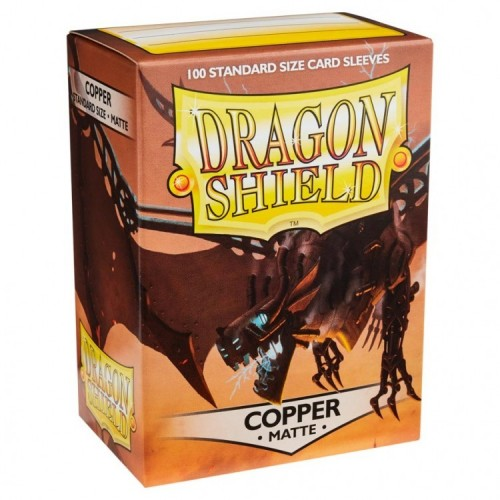 Protector de cartas Dragon Shield 100 - Standard Matte Copper