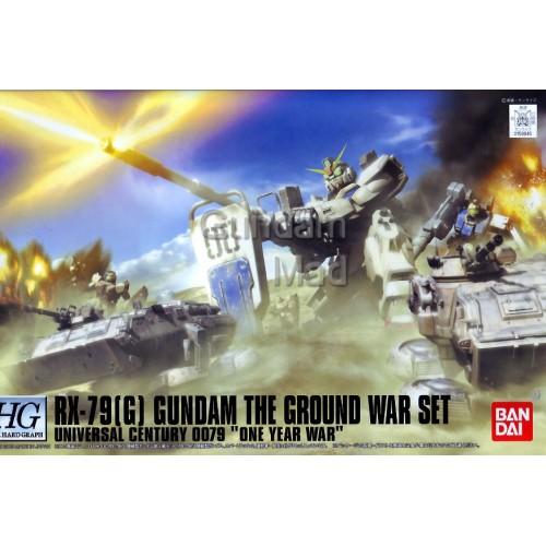 1/144 HGUC Rx-79(G) Gundam The Ground War Set - Model Kit