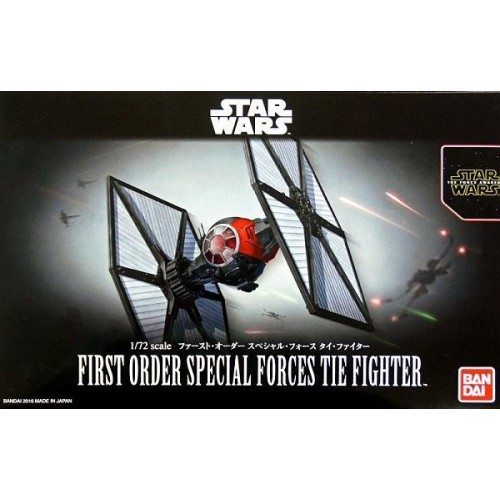 1/72 First Order Special Forces Tie Fighter - Model Kit