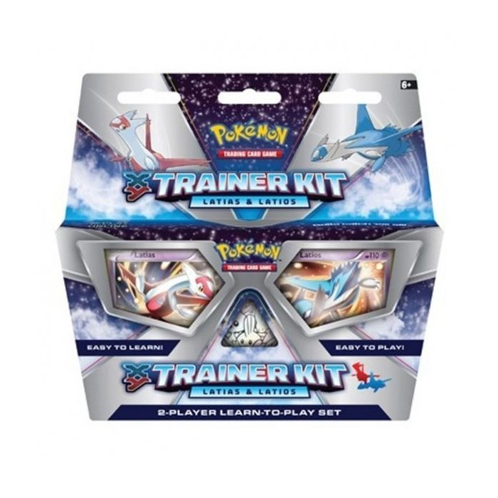Pokemon XY Trainer Kit -  Latias & Latios