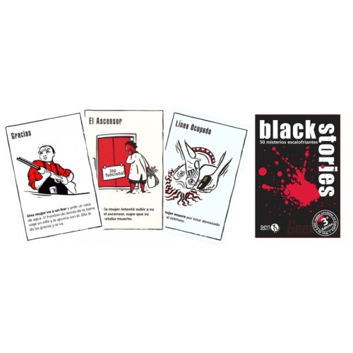 Black Stories: 50 Misterios Escalofriantes