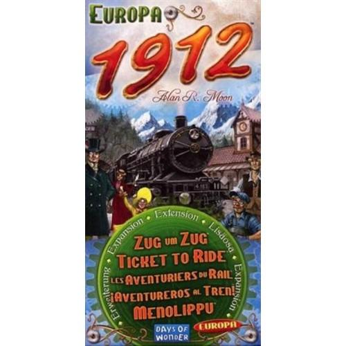 ¡Aventureros al Tren! Europa! 1912