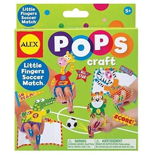 Pops Craft - Little Fingers Soccer