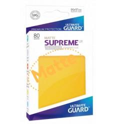 Protector  Ultimate Guard Supreme UX Standard  Amarillo Matte