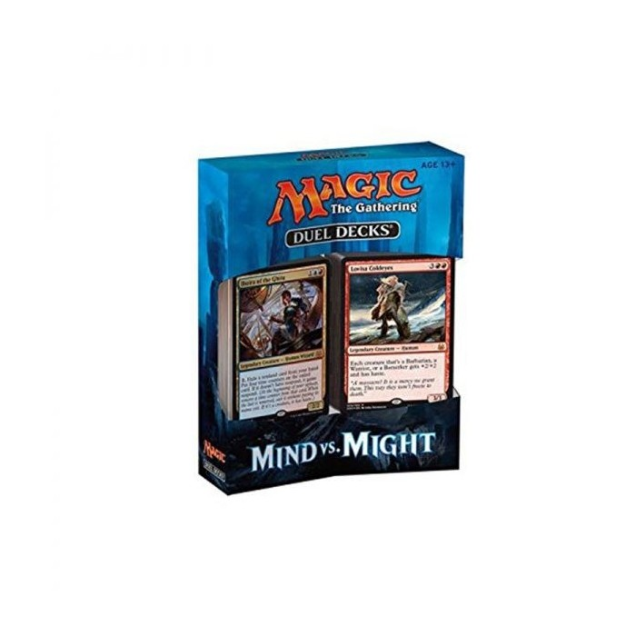 Magic The Gathering Duel Decks: Mind vs Might