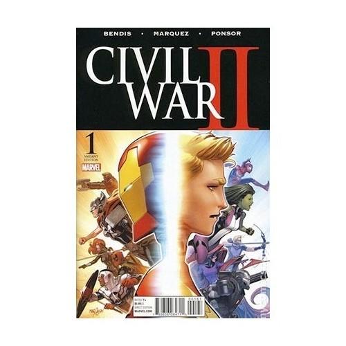CIVIL WAR II 01 (EDICIÓN LIMITADA)