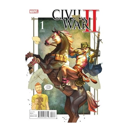 CIVIL WAR II 01 (EDICIÓN LIMITADA 2)