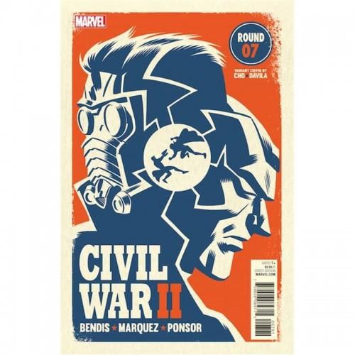 CIVIL WAR II 07 (PORTADA ALTERNATIVA)