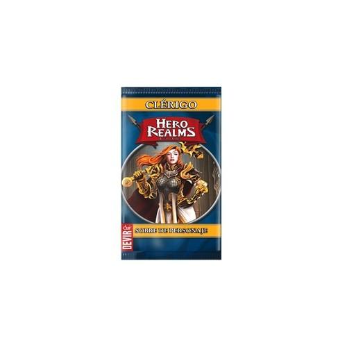Hero Realms - Sobre Personaje Clérigo