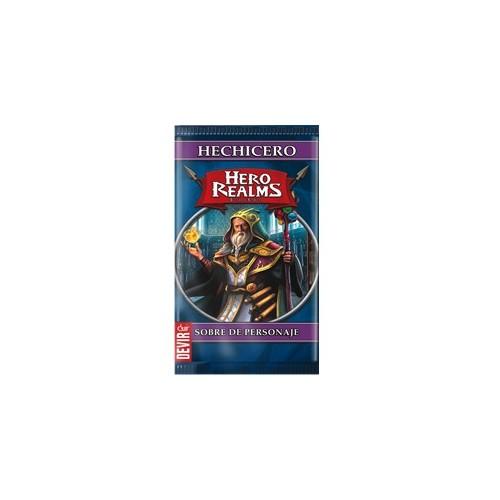 Hero Realms - Sobre Personaje Hechicero